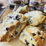 Blueberry Scones at Huntersville Main Street Coffee & Coworking