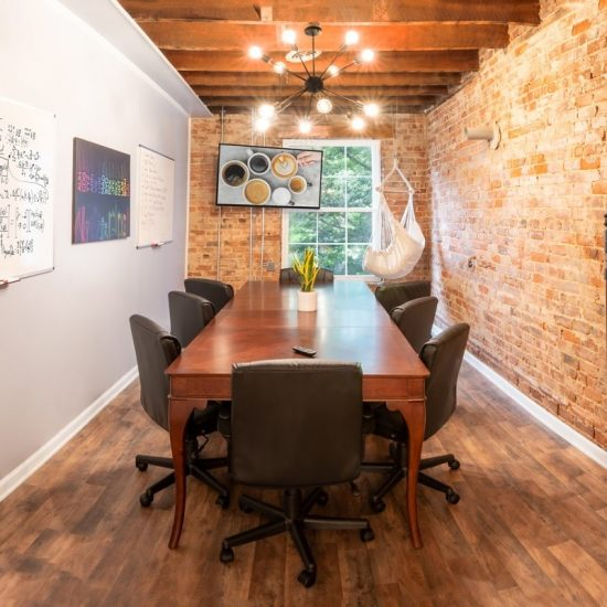 Conference Room Rental at Huntersville Main Street Coffee & Coworking