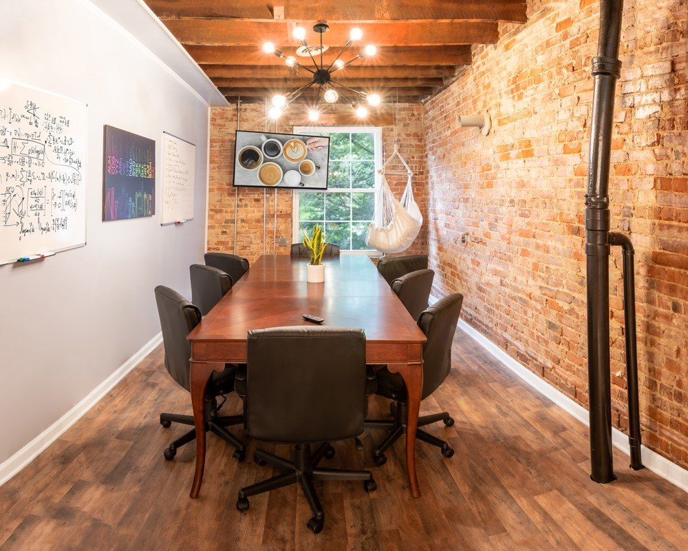 Conference Room Rental in Coworking Space at Huntersville Main Street Coffee & Coworking