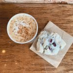 Snickerdoodle and Vegan Blueberry Scone at Huntersville Main Street Coffee & Coworking