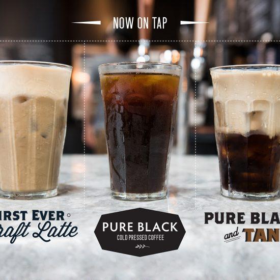 Draft Latte at Huntersville Main Street Coffee & Coworking