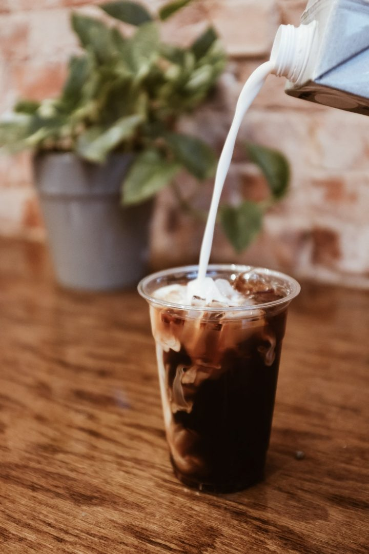 Iced Coffee with Oat Milk at Huntersville Main Street Coffee & Coworking